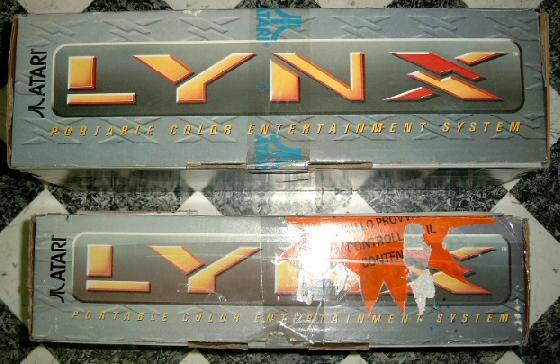 View at the front side of a Lynx I box