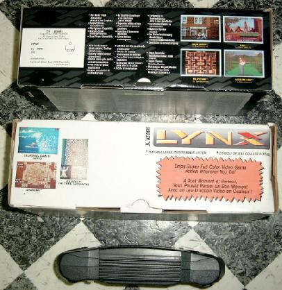 View at the front side of a Lynx II box