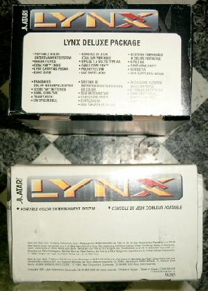 View at the right side of a Lynx II box