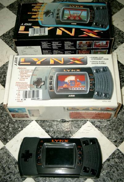 View at the top side of a Lynx II box