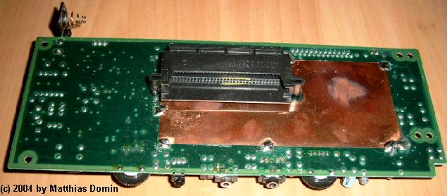 The back of the Lynx II-pcb