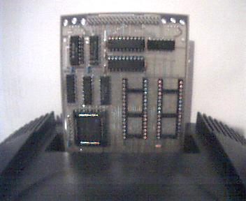 Picture of an prototype PCB